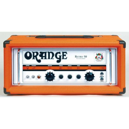 ORANGE RETR0 50H Custom Shop