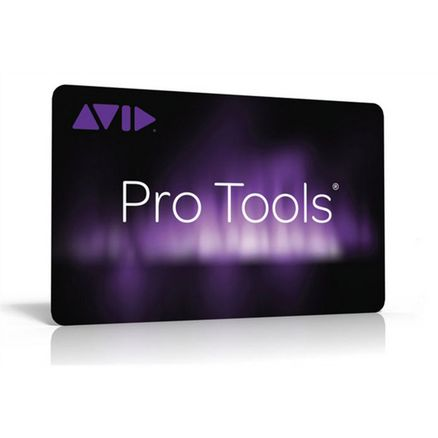 Avid Pro Tools Teacher Activation Card