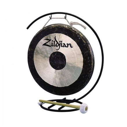 ZILDJIAN 12` TRADITIONAL GONG AND STAND SET