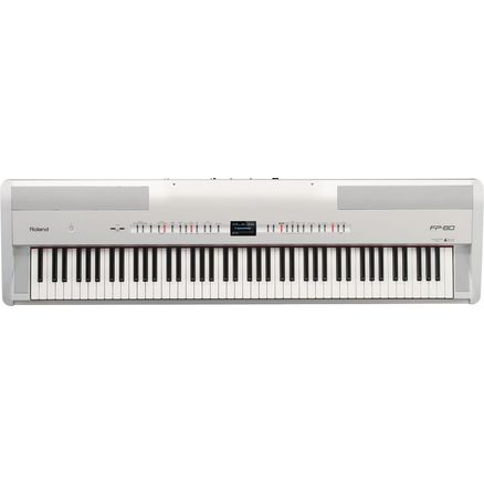 Цифровое пианино Roland FP-80 (White)