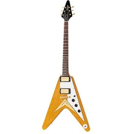 Электрогитара Epiphone 1958 FLYING-V KORINA ANTIQUE NATURAL