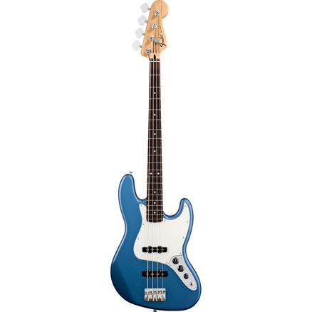 Бас-гитара FENDER STANDARD JAZZ BASS RW LAKE PLACID BLUE TINT