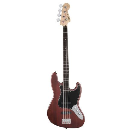 Бас-гитара FENDER AMERICAN STANDARD HAND STAINED ASH JAZZ BASS RW WINE RED