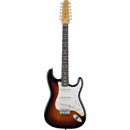 Электрогитара FENDER STRATOCASTER XII 12 STRING RW 2 COLOR SUNBURST