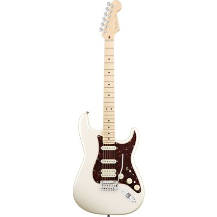 Электрогитара FENDER AMERICAN DELUXE STRAT HSS MN Olympic Pearl