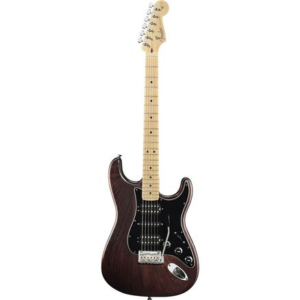 Электрогитара FENDER AMERICAN STANDARD HAND STAINED ASH STRATOCASTER MN MAHOGANY SATIN