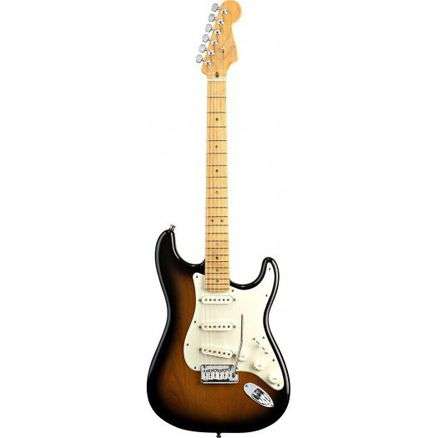 Электрогитара FENDER AMERICAN DELUXE STRAT MN V-NECK 2-COLOR SUNBURST