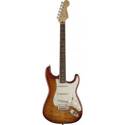 Электрогитара FENDER SELECT STRATOCASTER EXOTIC MAPLE QUILT