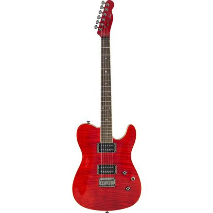 Электрогитара FENDER SPECIAL EDITION CUSTOM TELECASTER RW HH CRIMSON RED TRANSPARENT