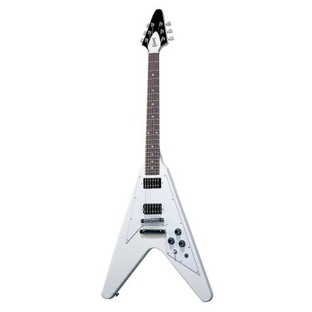 Электрогитара GIBSON FLYING V '67 REISSUE CLASSIC WHITE CHROME HDWE