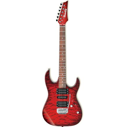 Электрогитара IBANEZ GRX90 TRANSPARENT RED BURST