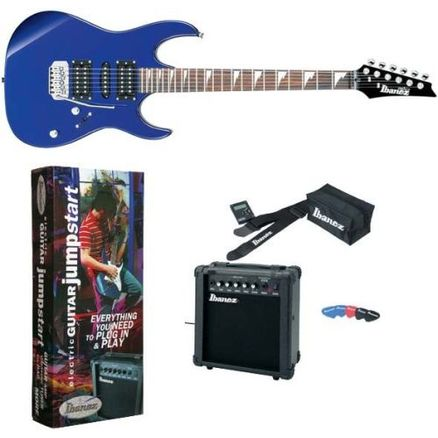 IBANEZ GRX70DXJU JEWEL BLUE NEW JUMPSTART PACKAGE