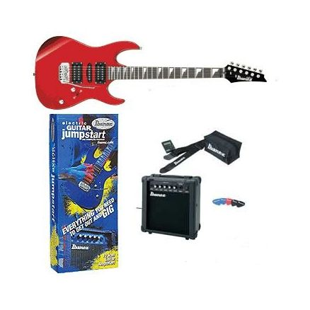 IBANEZ GRX70DXJU CANDY APPLE NEW JUMPSTART PACKAGE