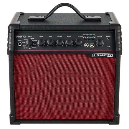 LINE 6 SPIDER V 20 Red Edition