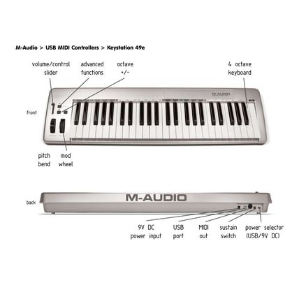 M-Audio Keystation 49es MK2