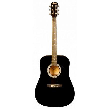 Акустическая гитара FENDER SQUIER SA-105 BLACK - купить в интернет-магазине Music-Hummer в розницу или оптом