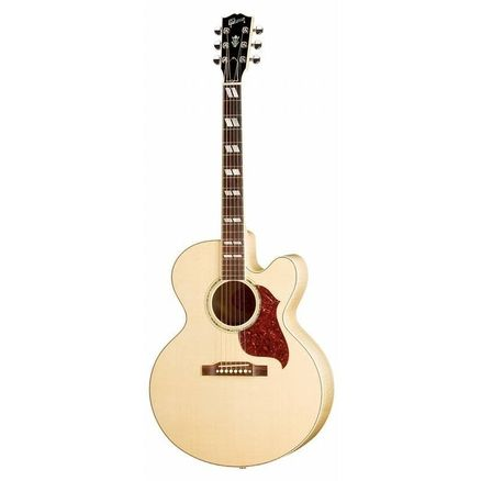 Электроакустическая гитара GIBSON J-185 EC ANTIQUE NATURAL